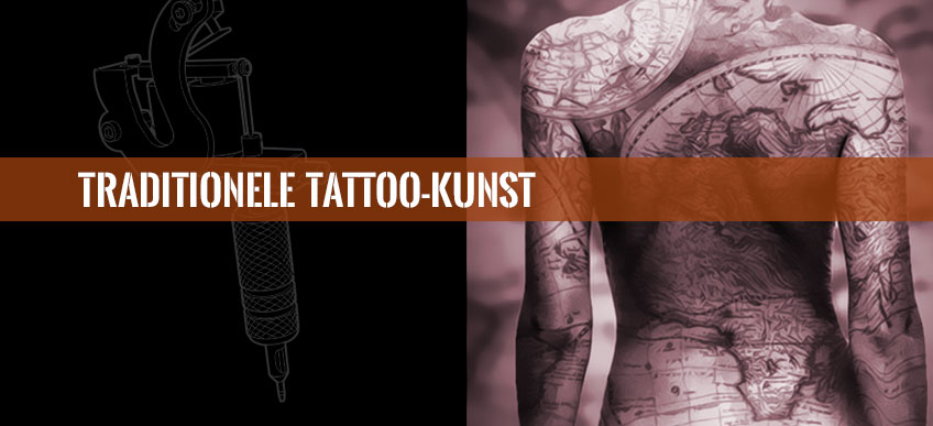 Traditionele tattoo-kunst is als volgt te classificeren