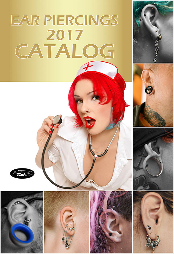 ear piercings catalog preview